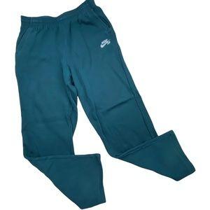 Nike SB Boy's Size XL Dark Teal Blue Athletic Sweat Pants